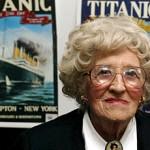 E' morta l'ultima superstite del Titanic, Millvina Dean