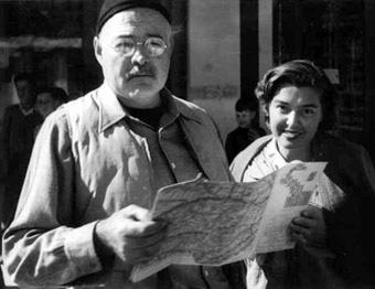 Fernanda Pivano e Ernest Hemingway